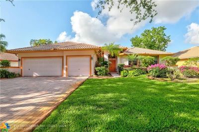 Coral Springs Single Family Home For Sale: 6766 NW 43rd Pl