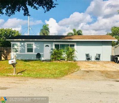 Pompano Beach Single Family Home Backup Contract-Call LA: 2751 NE 11th Ter