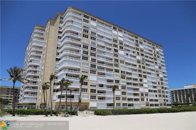 Pompano Beach Condo/Townhouse For Sale: 1012 N Ocean Blvd #1210