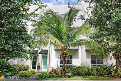Oakland Park Condo/Townhouse For Sale: 4335 NE 1st Ter #5