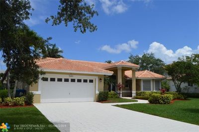 Coral Springs Single Family Home For Sale: 5323 NW 110th Ave