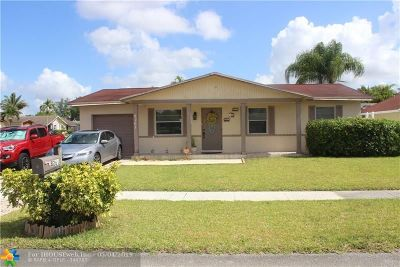 North Lauderdale Single Family Home Backup Contract-Call LA: 8261 SW 3rd Pl