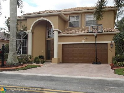 Coral Springs Single Family Home For Sale: 11680 NW 12th St