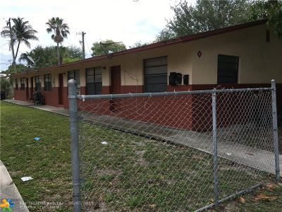 Fort Lauderdale Multi Family Home For Sale: 1030 NW 1st Ave