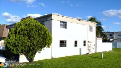 Margate Condo/Townhouse For Sale: 8090 NW 13th St #I