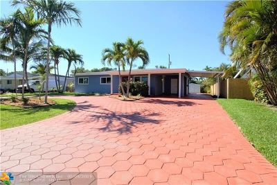 Wilton Manors Rental For Rent: 624 NW 28th Ct