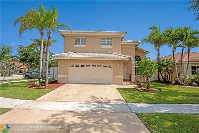 Pembroke Pines Single Family Home For Sale: 17687 SW 6th Ct