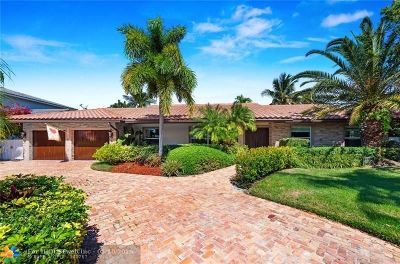 Coral Ridge Country Club Single Family Home For Sale: 2833 NE 38 St