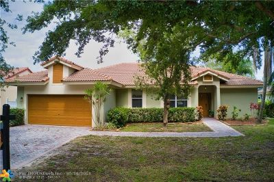 Coconut Creek Single Family Home For Sale: 6212 NW 45th Ave
