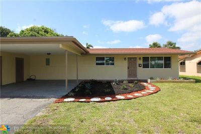 Wilton Manors Single Family Home For Sale: 608 NW 30th Court