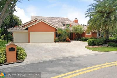 Coral Springs Single Family Home Backup Contract-Call LA: 4990 NW 83rd Ln