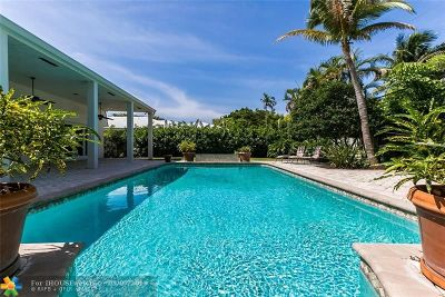 Fort Lauderdale Single Family Home For Sale: 651 Intracoastal Dr