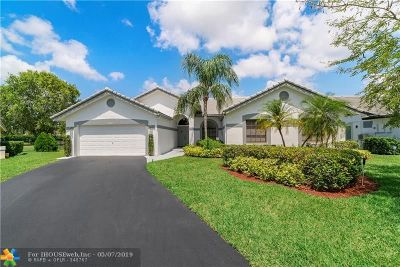 Coral Springs Single Family Home For Sale: 12051 NW 2nd Dr