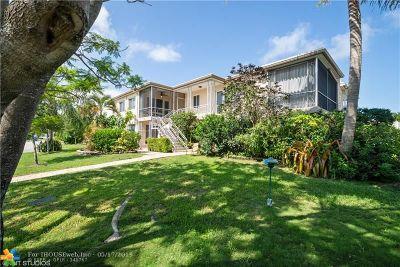 Pompano Beach Condo/Townhouse For Sale: 3201 SE 12th Street #B6
