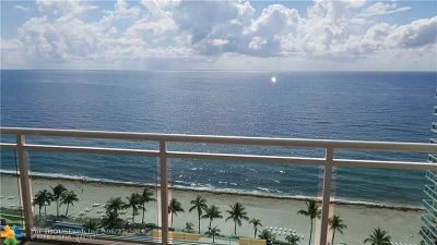 Fort Lauderdale Condo/Townhouse For Sale: 3900 Galt Ocean Dr #1611