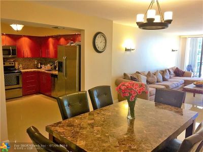 Hollywood Condo/Townhouse For Sale: 2401 S Ocean Dr #707