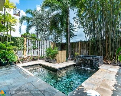 Fort Lauderdale Condo/Townhouse For Sale: 1707 NE 8th St #1707