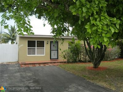 Margate Single Family Home For Sale: 2660 NW 60th Ave