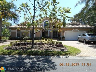 Coral Springs Single Family Home Backup Contract-Call LA: 5071 NW 82nd Ter