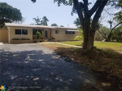 Pompano Beach Single Family Home For Sale: 436 NE 25th Ave
