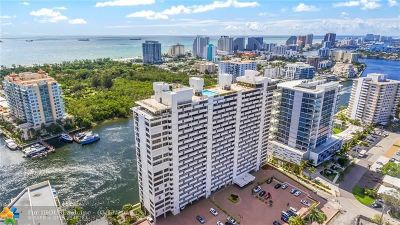 Fort Lauderdale Condo/Townhouse For Sale: 936 Intracoastal Dr #20A
