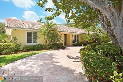 Pompano Beach Single Family Home For Sale: 2600 N Riverside Dr