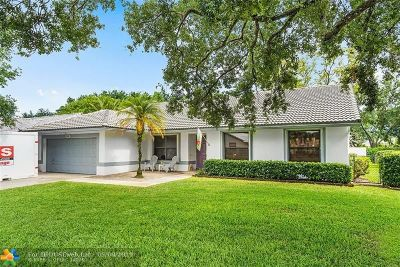 Coral Springs Single Family Home For Sale: 8882 NW 56th St
