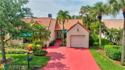 Boca Raton Condo/Townhouse For Sale: 6474 Las Flores Dr