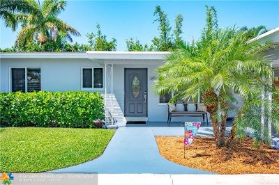 Pompano Beach Single Family Home For Sale: 605 NE 23rd Ter