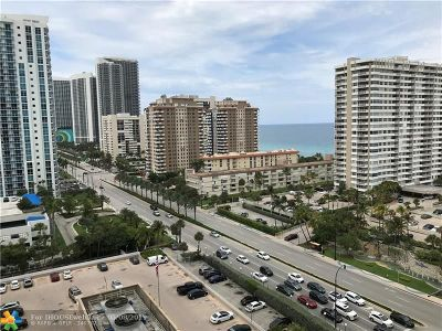 Hallandale Condo/Townhouse Backup Contract-Call LA: 1985 S Ocean Dr #14h