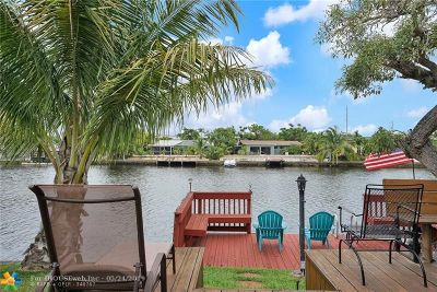 Wilton Manors Single Family Home For Sale: 1117 NW 30th St