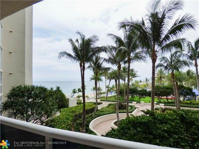 Lhermitage I Condo, Lhermitage Ii Condo Rental For Rent: 3200 N Ocean Blvd #504