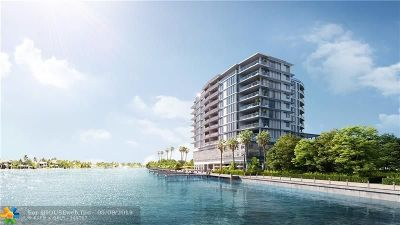 Fort Lauderdale Condo/Townhouse For Sale: 435 Bayshore Drive #604