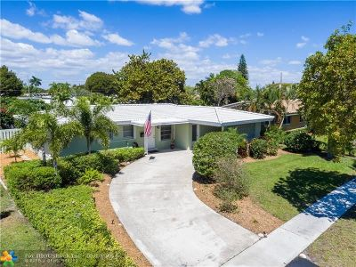 Fort Lauderdale Single Family Home For Sale: 5731 NE 22nd Ter