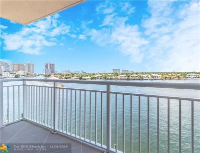 Fort Lauderdale Condo/Townhouse For Sale: 511 Bayshore Dr #609