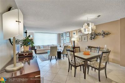 Condo/Townhouse For Sale: 3015 N Ocean Blvd #14B