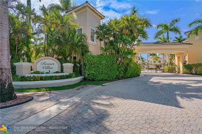 Palm Beach Gardens Condo/Townhouse For Sale: 110 Resort Ln