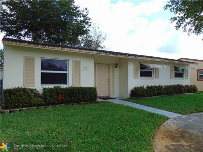 Margate Single Family Home Backup Contract-Call LA: 6991 SW 1st St