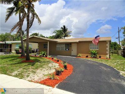 Pompano Beach Single Family Home Backup Contract-Call LA: 221 NE 25th Ct