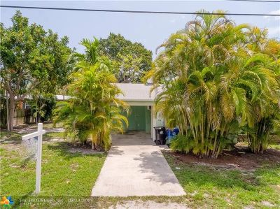Fort Lauderdale Single Family Home For Sale: 738 NE 17th Rd