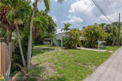 Fort Lauderdale Residential Lots & Land For Sale: 738 NE 17th Rd