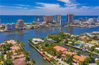 Fort Lauderdale FL Single Family Home For Sale: $4,299,000