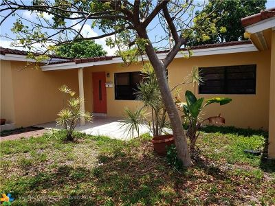 Oakland Park Single Family Home For Sale: 150 NW 38th St