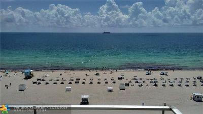 Miami Beach Condo/Townhouse For Sale: 465 Ocean Dr #1115