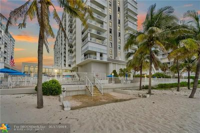 Pompano Beach Condo/Townhouse For Sale: 1000 S Ocean Blvd #9B