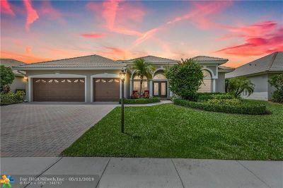 Boca Raton Single Family Home For Sale: 12421 Rockledge Cir