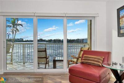 Pompano Beach Condo/Townhouse For Sale: 1201 Riverside Drive #204