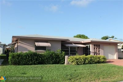 Tamarac Single Family Home For Sale: 4920 NW 55th St
