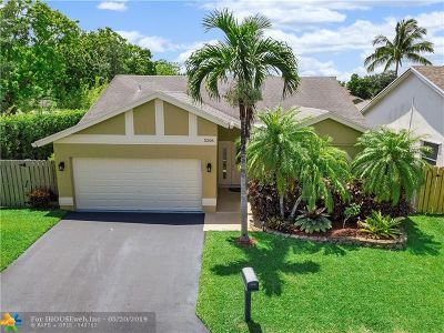 Coral Springs Single Family Home For Sale: 5206 NW 98th Ter