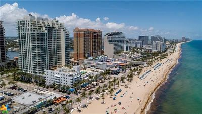 Fort Lauderdale Condo/Townhouse For Sale: 101 S Fort Lauderdale Beach Blvd #1105